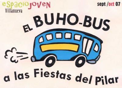 BUS BUHO a las Fiestas del Pilar