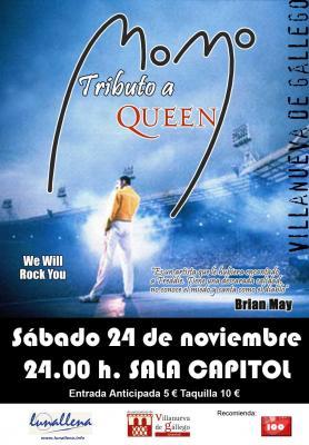 Fiesta Tributo a Freddie Mercury con MOMO
